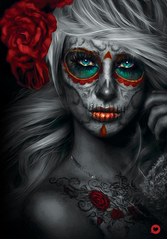 Catrina 2 – Illustration Poster