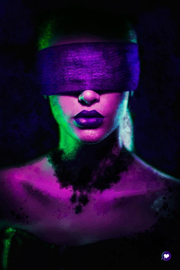 Purple – Illustration Poster
