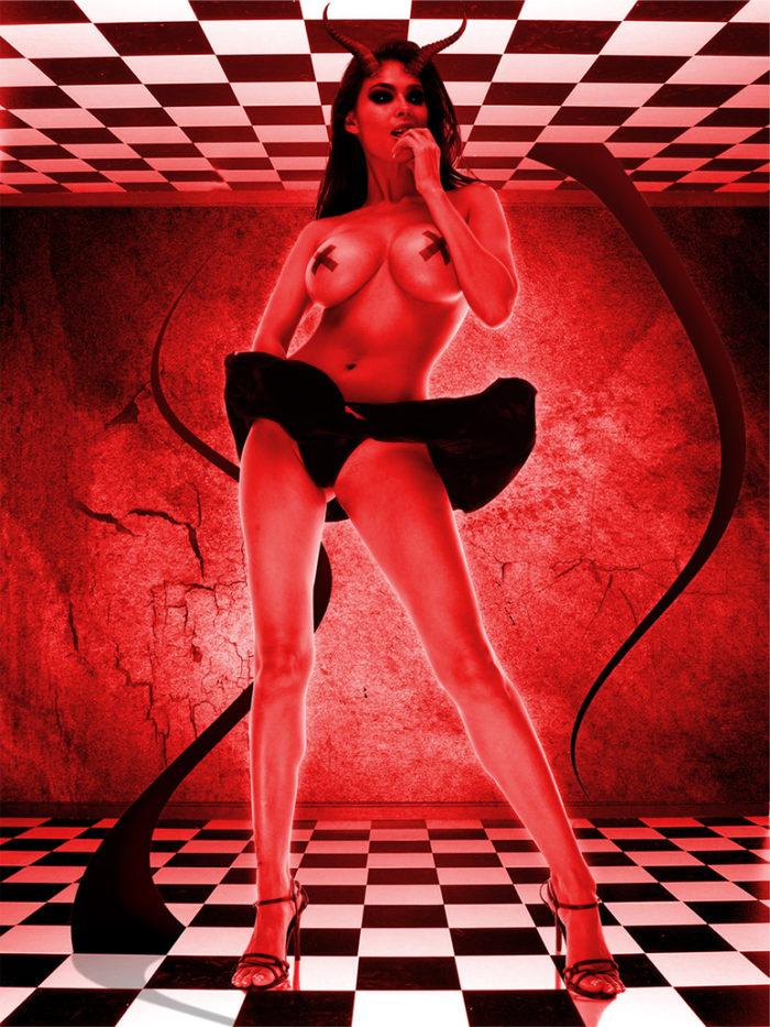 A Beautiful Lie – Digital Arts Poster