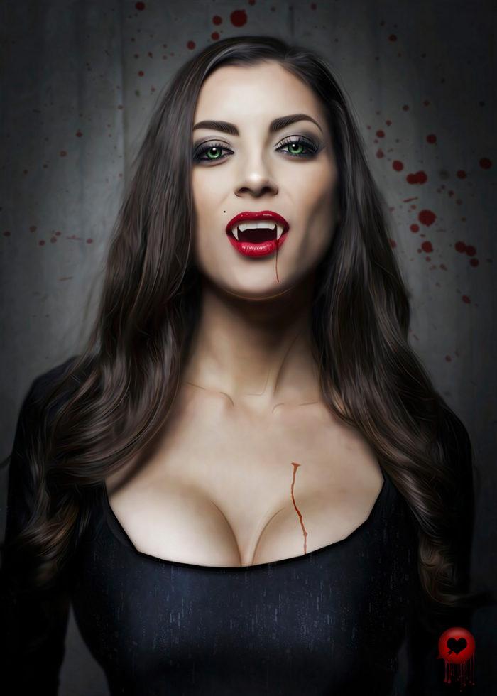 Vamp – Illustration Poster