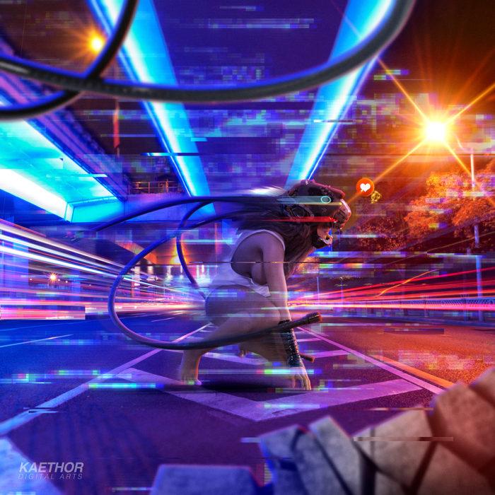 Medusa – Digital Art Poster
